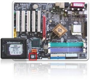 マザーボードとROM BIOS